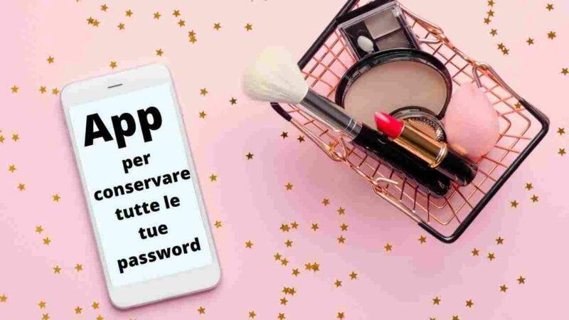 app salvare password
