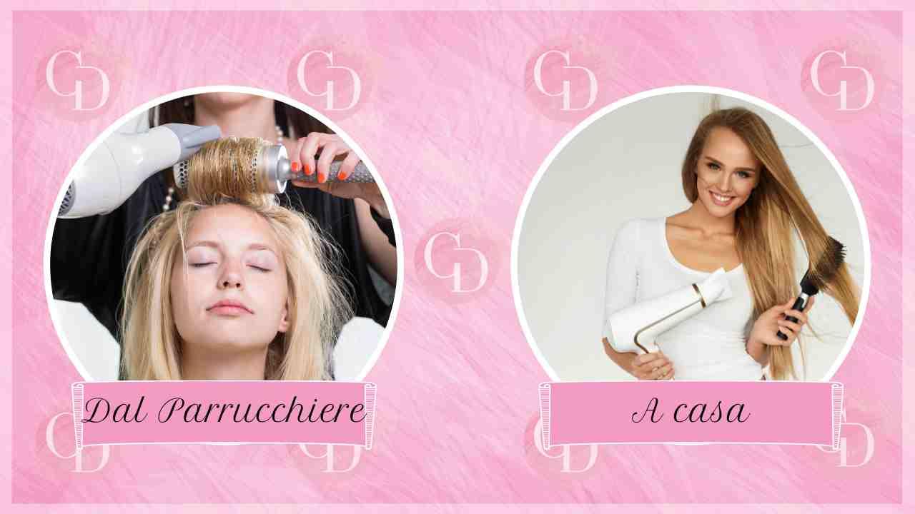 Test dei capelli: dove fai la piega? Scopri quanto sei indipendente