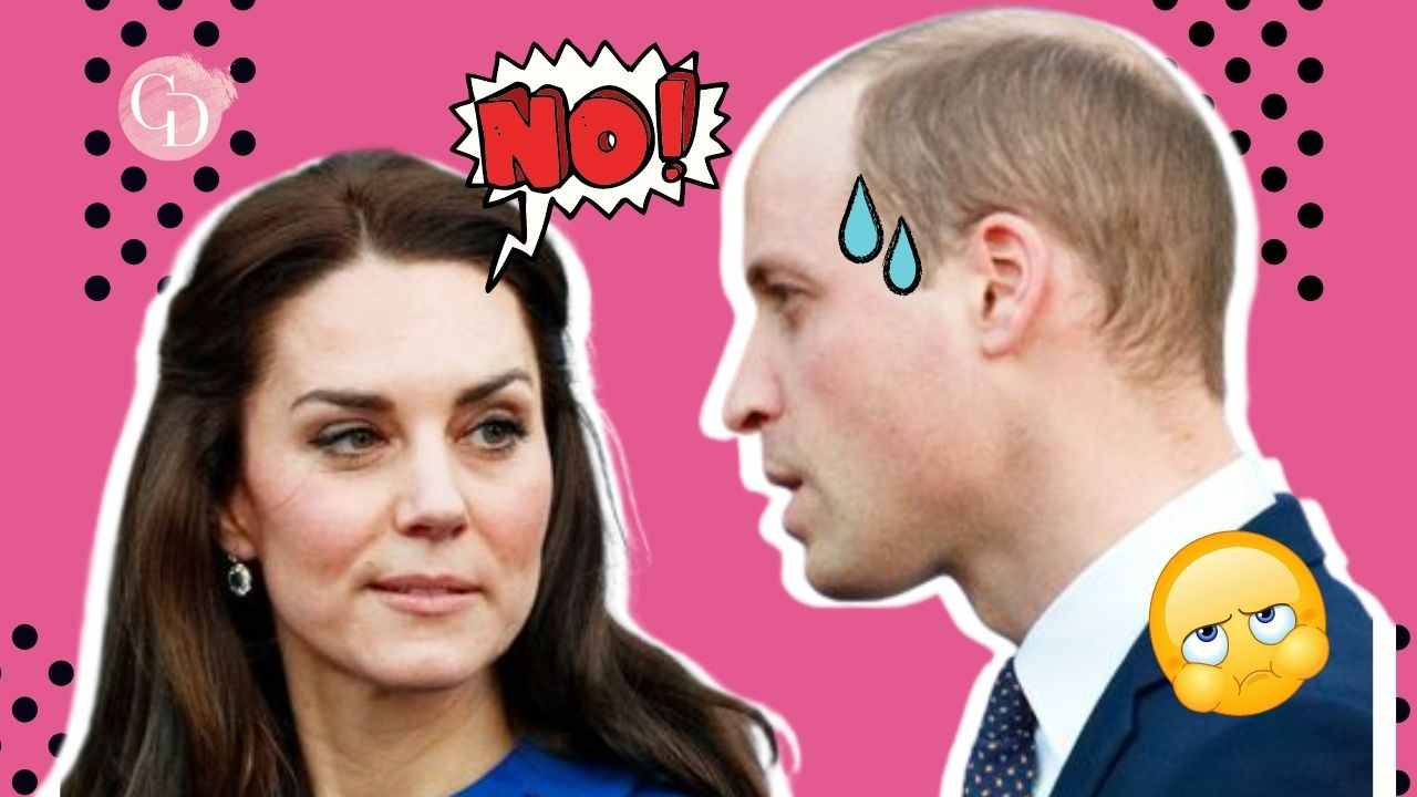 William e kate divieto