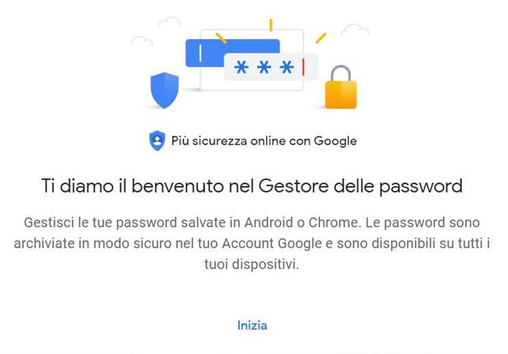 Gestore password di Google