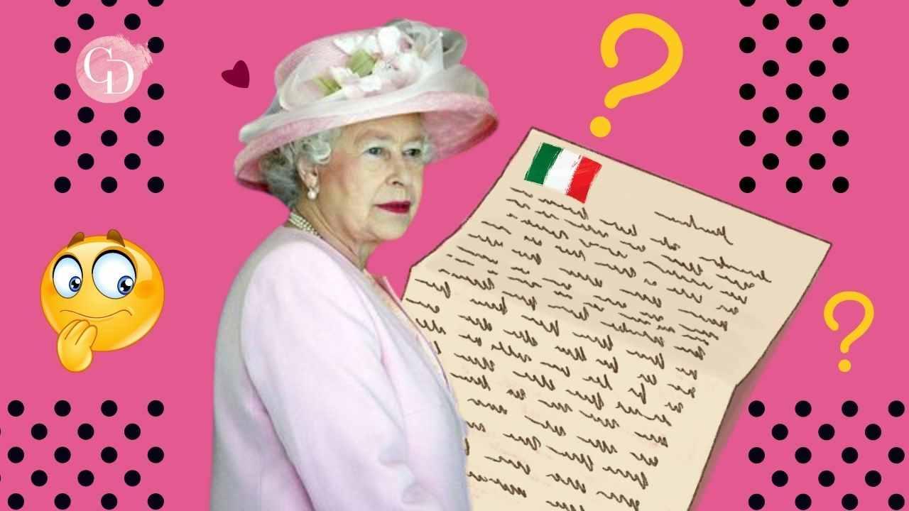 lettera regina elisabetta