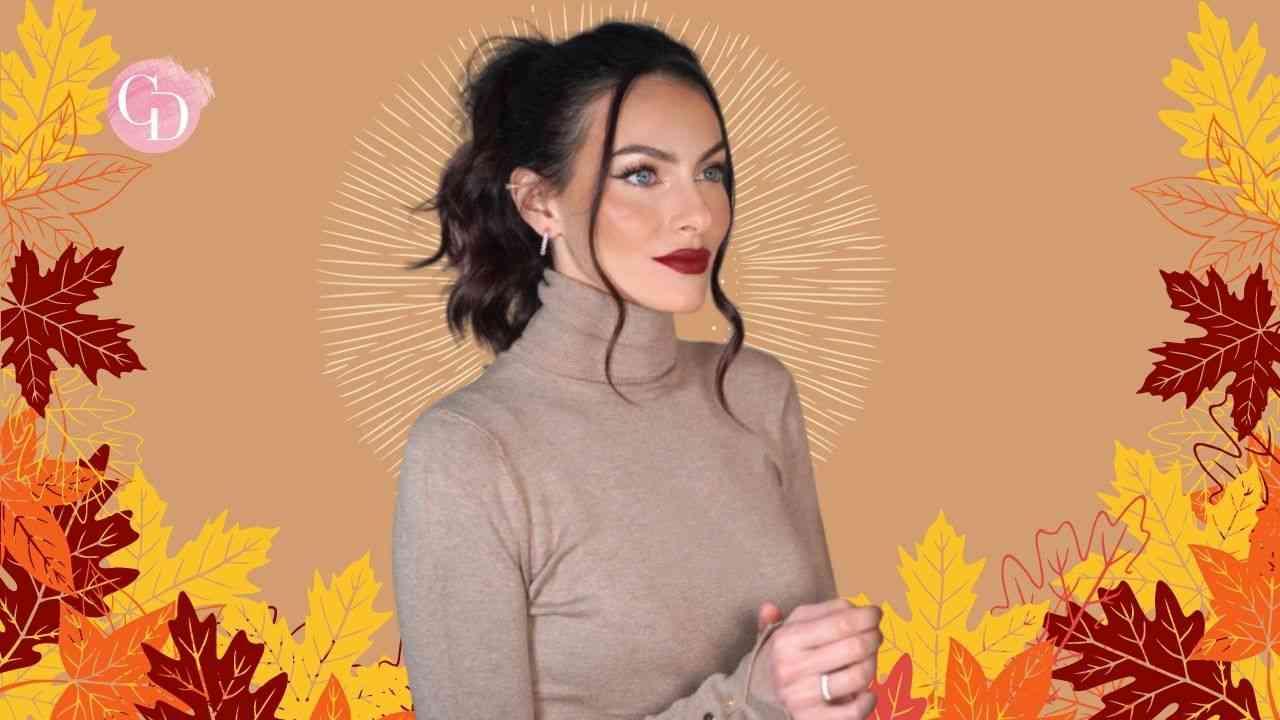 Il look di Paola Turani: tutti i must del make up Autunno 2021