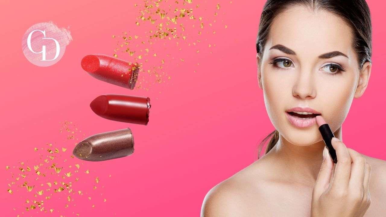 makeup per le labbra donna si applica il rossetto