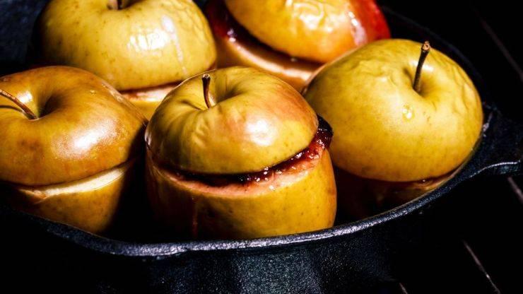buccia mele cotte raggrinzita