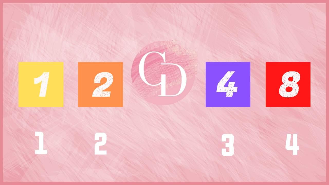 test colori e numeri