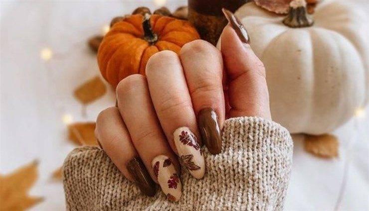 unghie nude autunno 2021