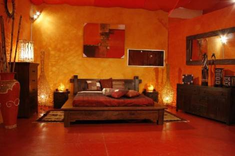 Camera Da Letto Stile Orientale : Arredamento camera da letto stile etnico