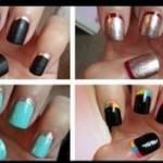TUTORIAL UNGHIE: quattro nail art per principianti