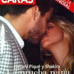 Shakira e Piquè: bacio da copertina!