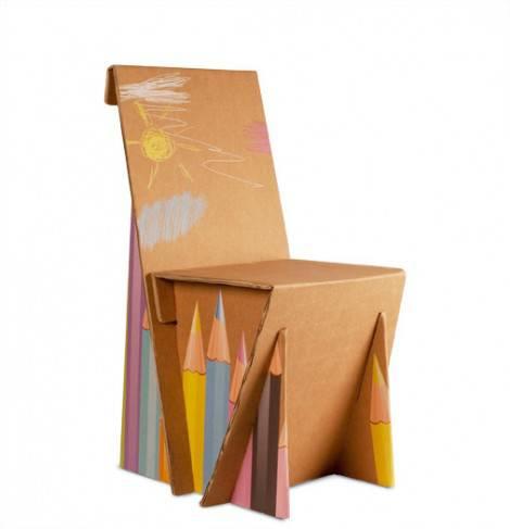 Una sedia in cartone da fare con le proprie mani – essere davvero un