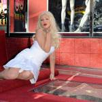 Christina Aguilera sulla Walk of Fame