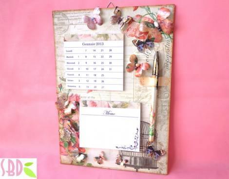Idee regalo calendario con memo da parete fai da te - Idee tavoli fai da te ...