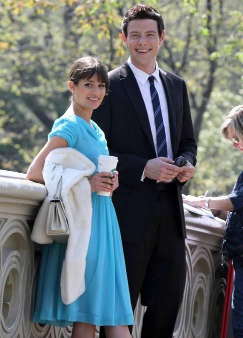 FFN flynet glee 042611 GG 50548904 486x675 GLEE: Lea Michele e Cory Monteith, amore anche nella vita?