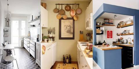 Idee arredamento come sistemare una cucina piccola for Arredare cucina piccola e stretta