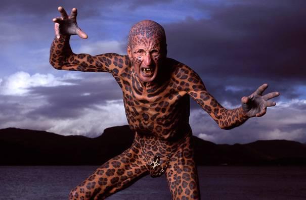 uomo con più tatuaggi al mondo [FOTO] - CheDonna.it Ugliest Person In The World Guinness World Record