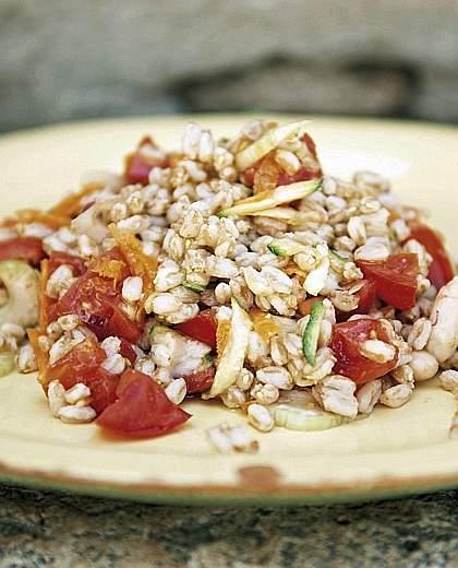 insalata gourmet farro e pomodorini