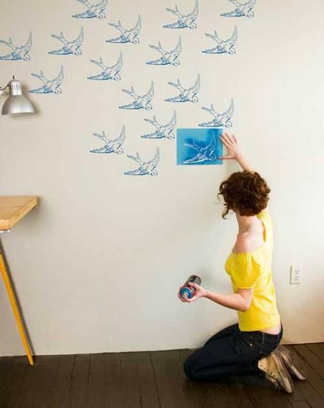 La casa fai da te pitture e trucchi impariamo page 4 for Decorare muro stanza
