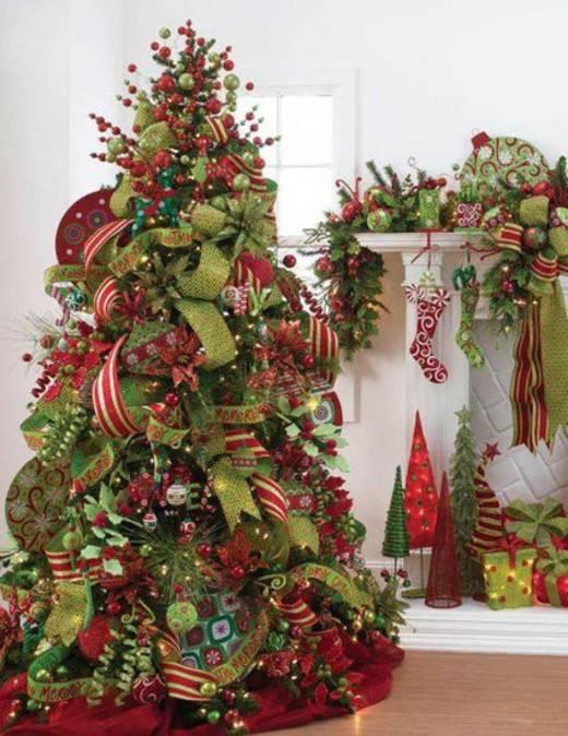 Alberi Di Natale Belli.Alberi Di Natale Ecco I Piu Belli Foto