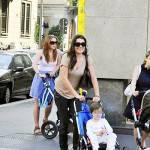 Alena Seredova con i figli e un nuovo amore