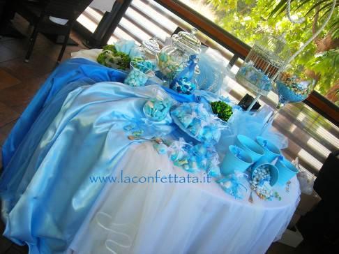 Confettata anche per un battesimo ci vuole dolcezza - Addobbi tavolo battesimo ...