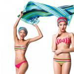 COSTUMI 2012 novità: Benetton, linea beachwear