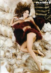 Sarah Nile Calendario.Sarah Nile Si Spoglia Per Playboy