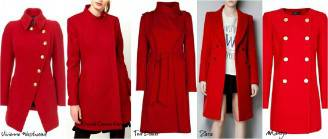 Tendenze 2012 Rosso Cappotto Autunnoinverno 2013 6qw6Yv