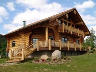 Il vantaggio di costruire una casa vacanze in legno - Costruire una casa economica ...