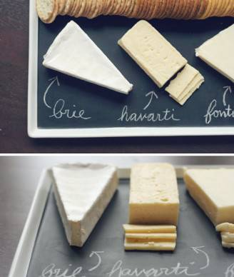 chalkboard serving platter 328x388 IDEE REGALO: una lavagna per ogni esigenze
