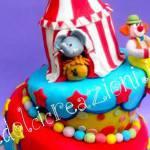 TORTE DECORATE: il circo per i più piccoli