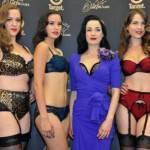 DITA VON TEESE e la linea di lingerie