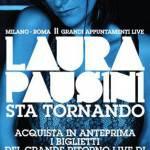 LAURA PAUSINI DAY, prevendita biglietti tuor Roma Milano 2011