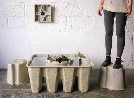 Idee arredamento i mobili in cartone - Mobili di cartone design ...