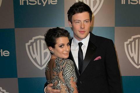 image21 GLEE: Lea Michele e Cory Monteith, amore anche nella vita?