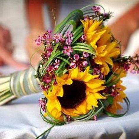 Idee matrimonio i fiori per le nozze ad agosto for Fiori di agosto