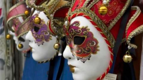 maschere di carnevale in coppia