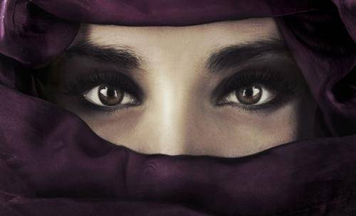 Palestine arab hijab girl show her big boobs in webcam - 3 10