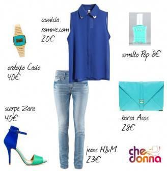 outfit blu 328x336 MA COME TI VESTO? Outfit blu