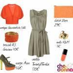MA COME TI VESTO? Outfit verde militare e arancione