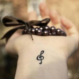 Tatuaggi La Chiave Di Violino