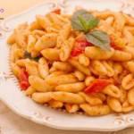 TUTORIAL CUCINA: Cavatelli con bottarga e pomodorini