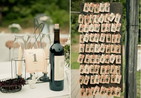 Idee matrimonio: tableau e nomi dei tavoli