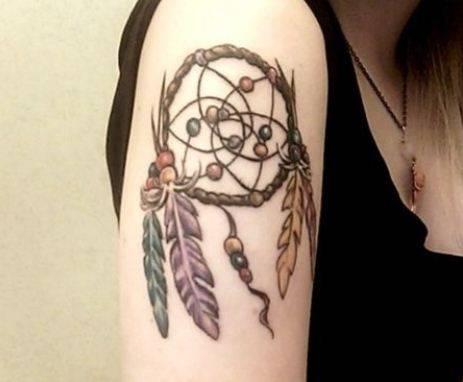 Tatuaggi acchiappasogni significato e foto for Acchiappasogni disegno