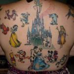TATUAGGI: personaggi Disney, foto