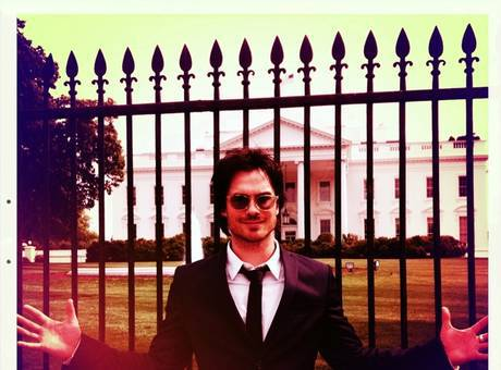 Ian somerhalder rencontre obama
